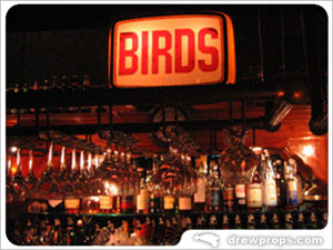 Birds bar in Hollywood