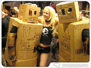 Box Robots and Hot Girls Go Together