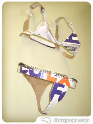 Tally's Cardboard Bikini