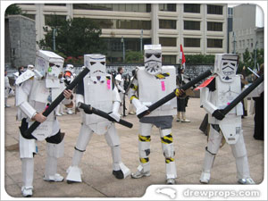 Box Robot Troopers