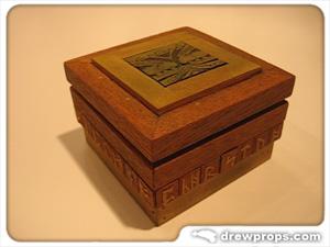 Handmade Wooden Tolkien Ringbox