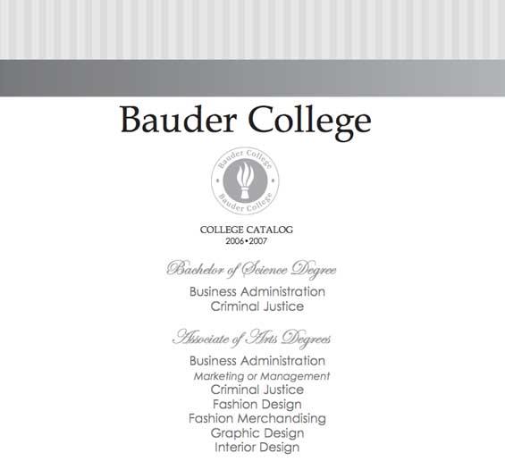 Bauder College