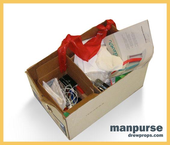 Drewprop's Cardboard Briefcase