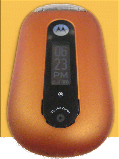Legendary Orange Motorola PEBL