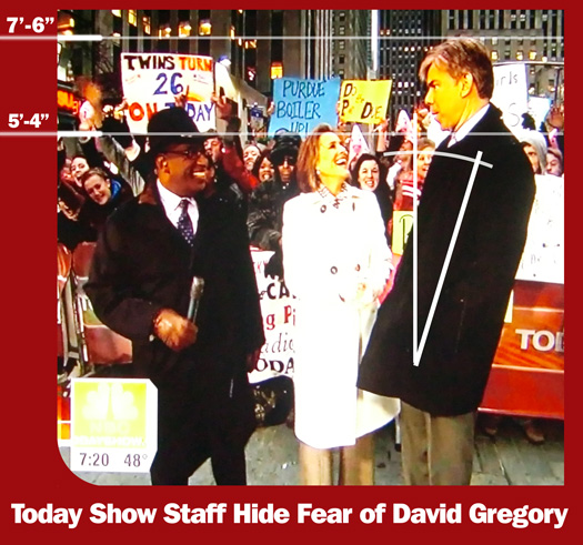 David Gregory Threatens to Annihilate Al and Meredith