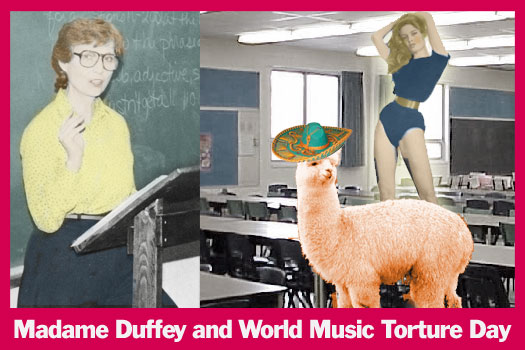 Madame Duffey and World Music Torture Day