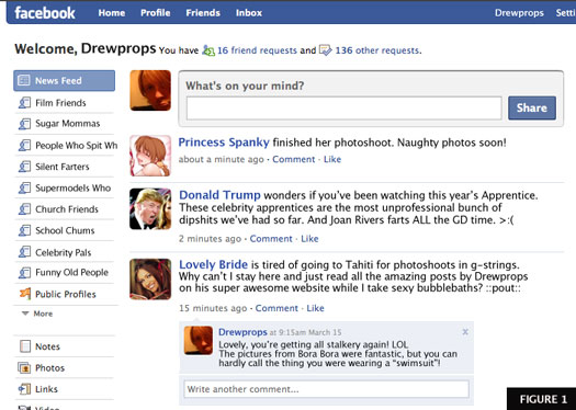 The new Facebook interface is confusing to some users