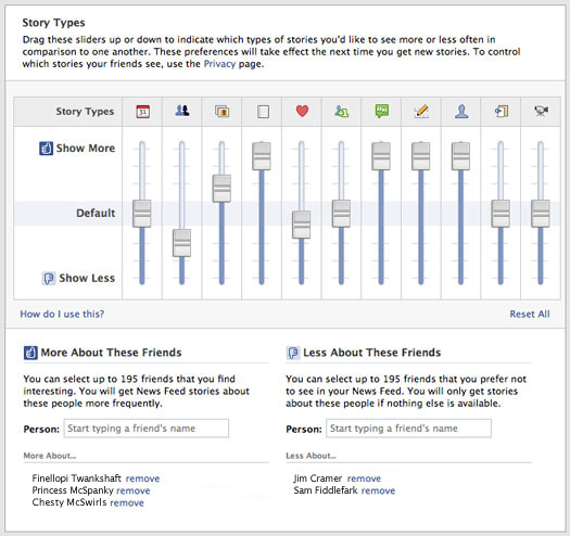 The Totally Cool 'Secret' Facebook Control Panel