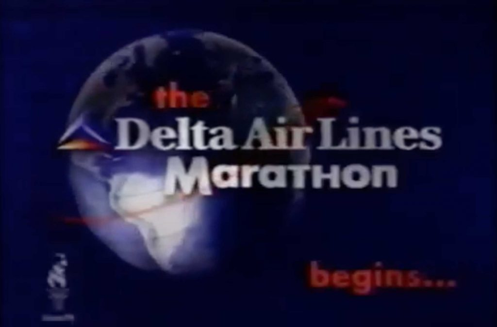 Delta Air Lines Marathon Commercial