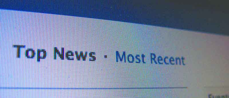 Two ways to view your News Feed