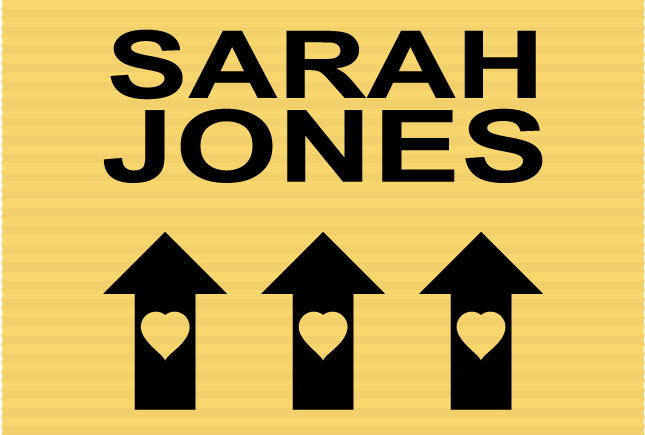 Sarah Jones Location Sign