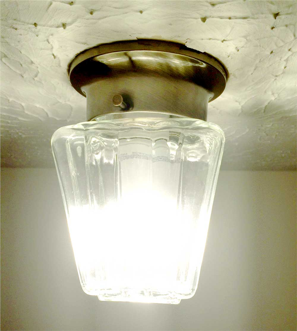 1960s-era lightbulb enclosure