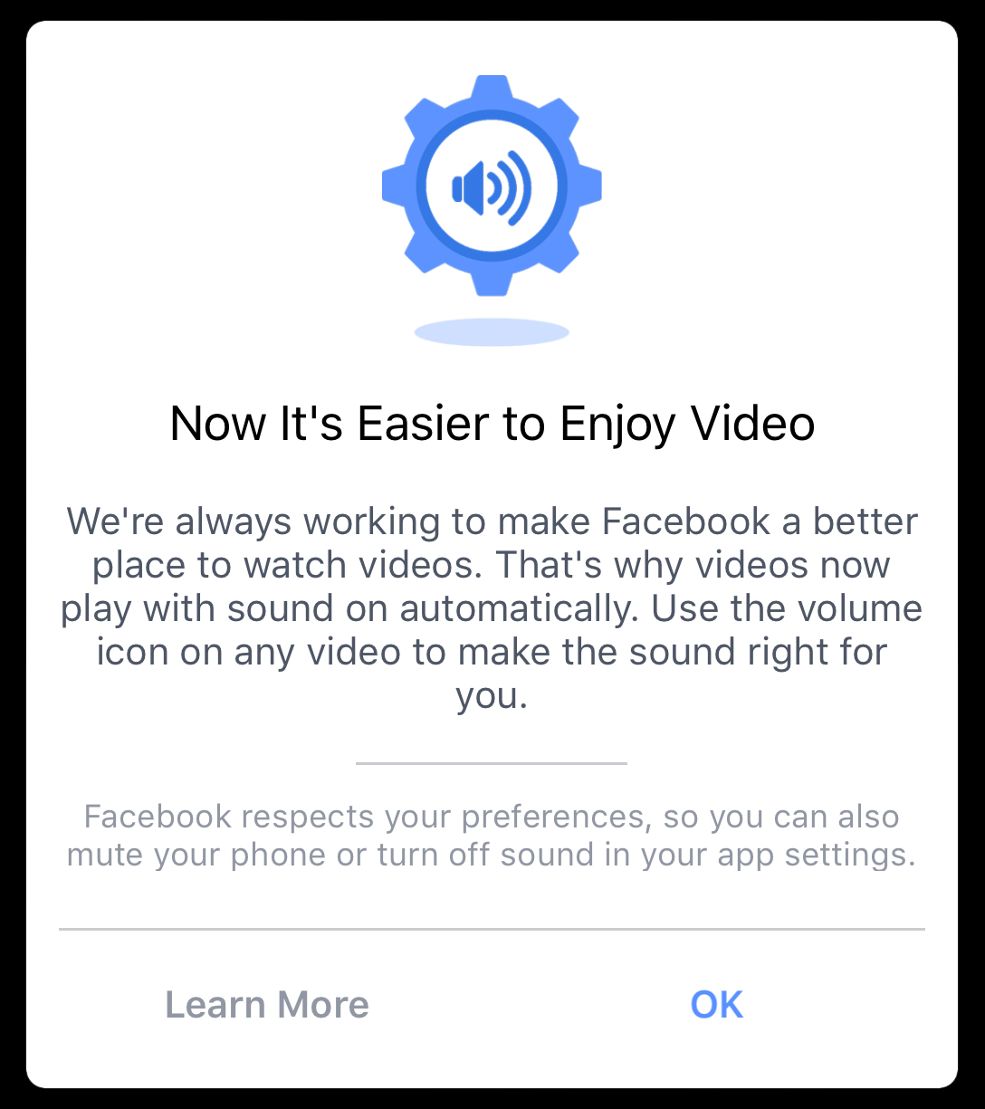 How to turn off sounds on facebook mobile