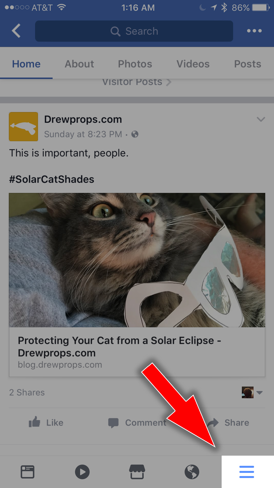How to Turn Off Automatic Sound on Facebook Videos » Drewprops Blog