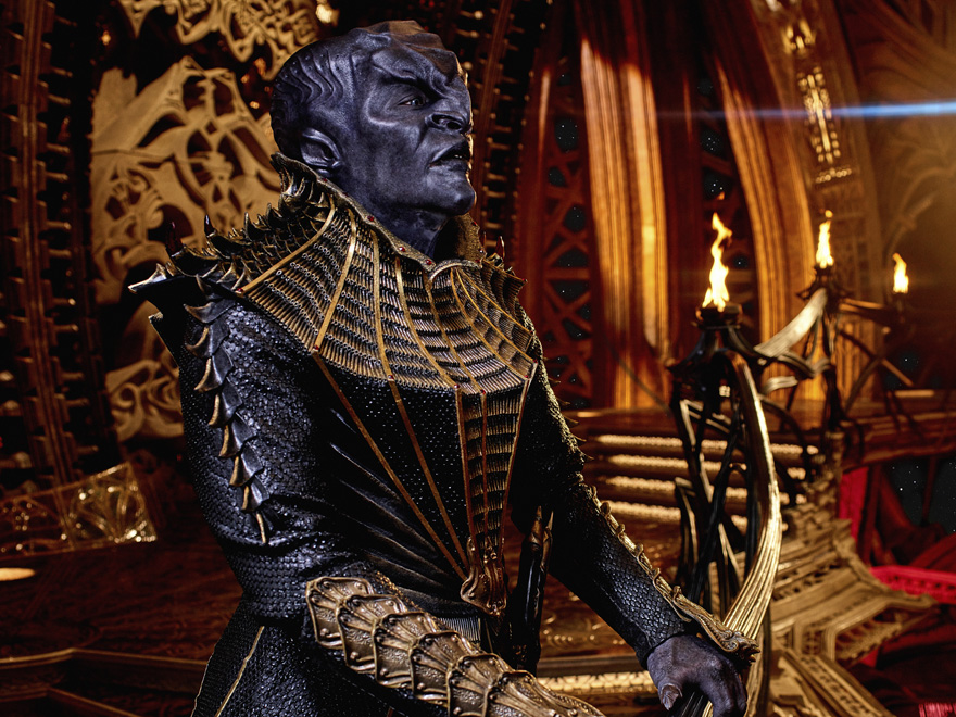 "T'Kuvma, a ""new"" style Klingon and the first villain of Star Trek Discovery"