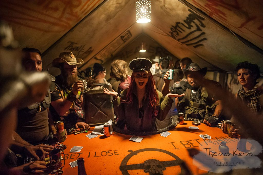 2017 Wasteland Weekend Cards and Drinks Photo by Thomas Kerns