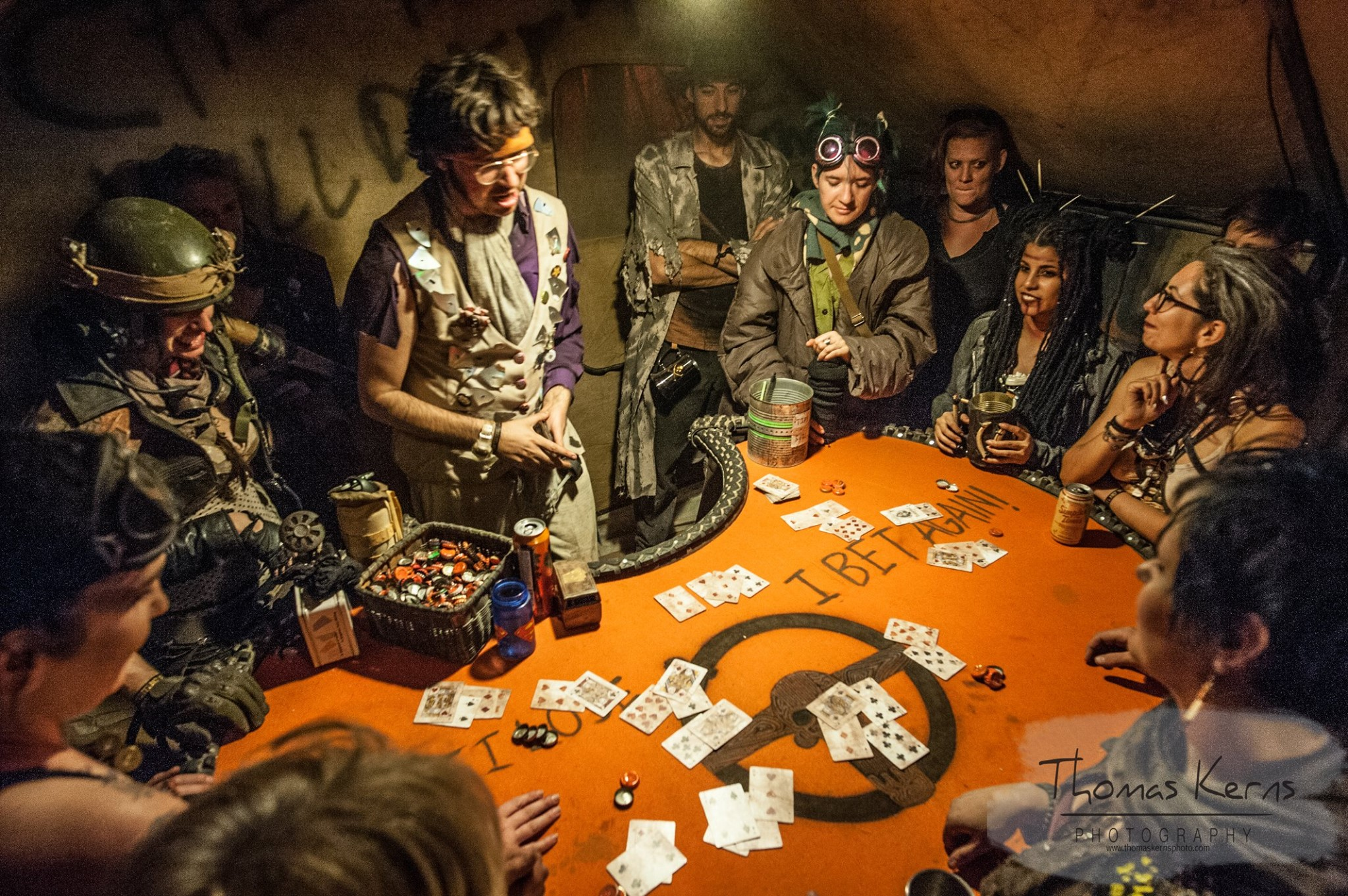 2017 Wasteland Weekend Card Game Photo by Thomas Kerns