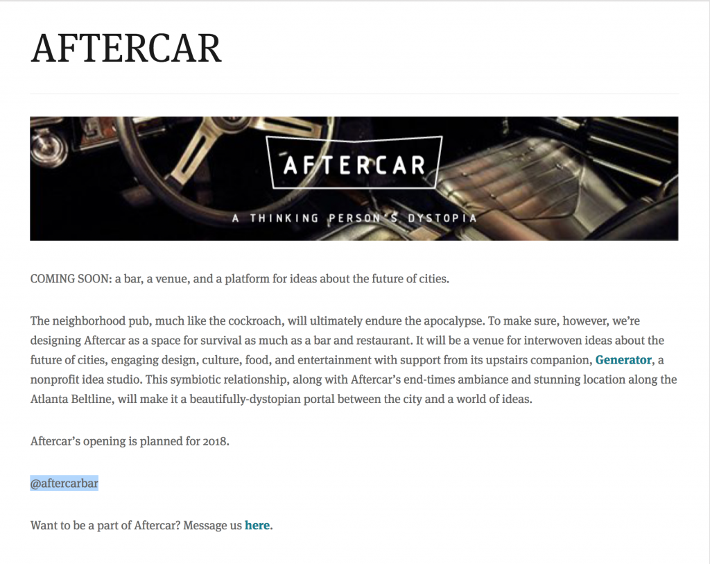 Ryan Gravel's latest venture - Aftercar - a thinking person's dystopia