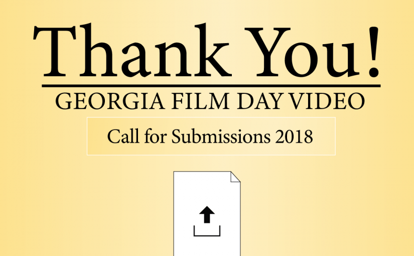 2018 Georgia Film Day Call for Submissions