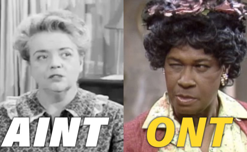 Aint Bee and Aunt Esther