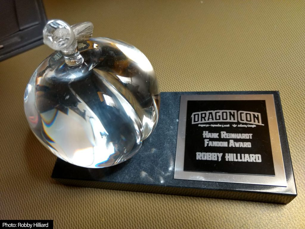 Hank Reinhardt Fandom Award