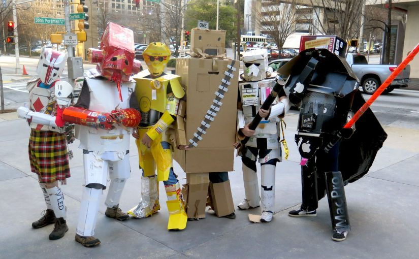 Cardboard Star Wars Boxplayers