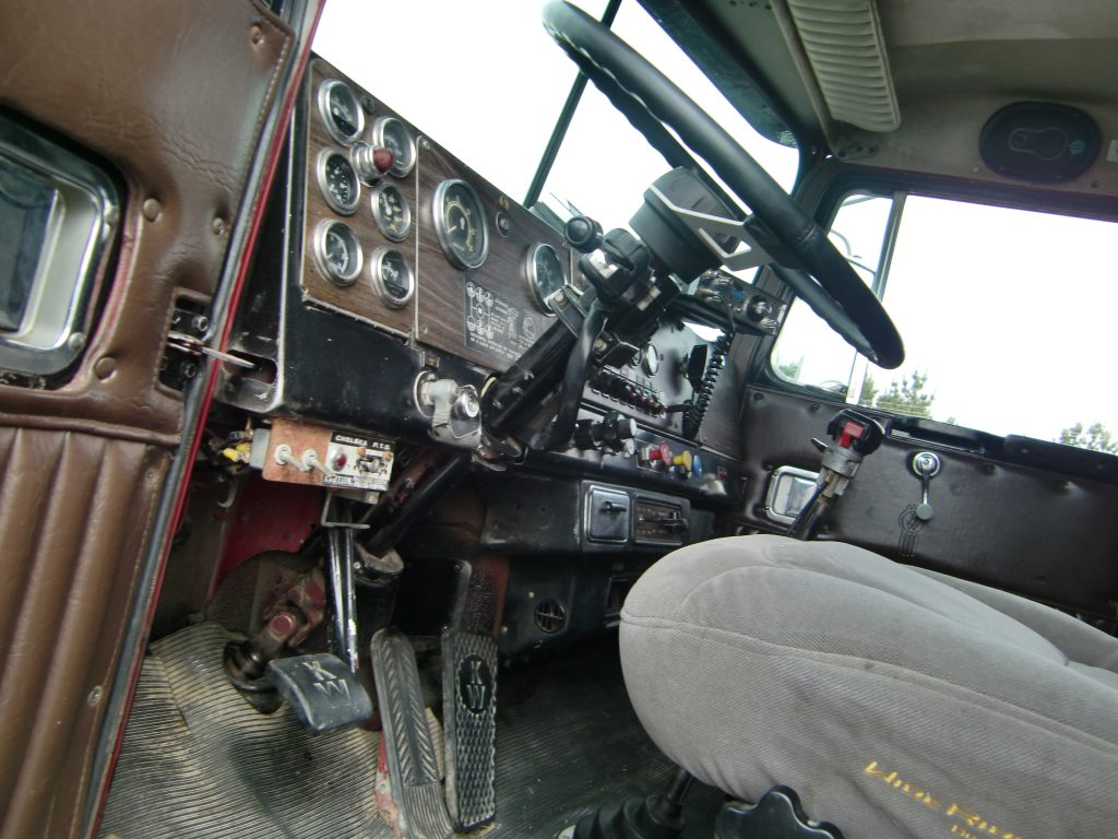 Inside of Snowman's replica rig