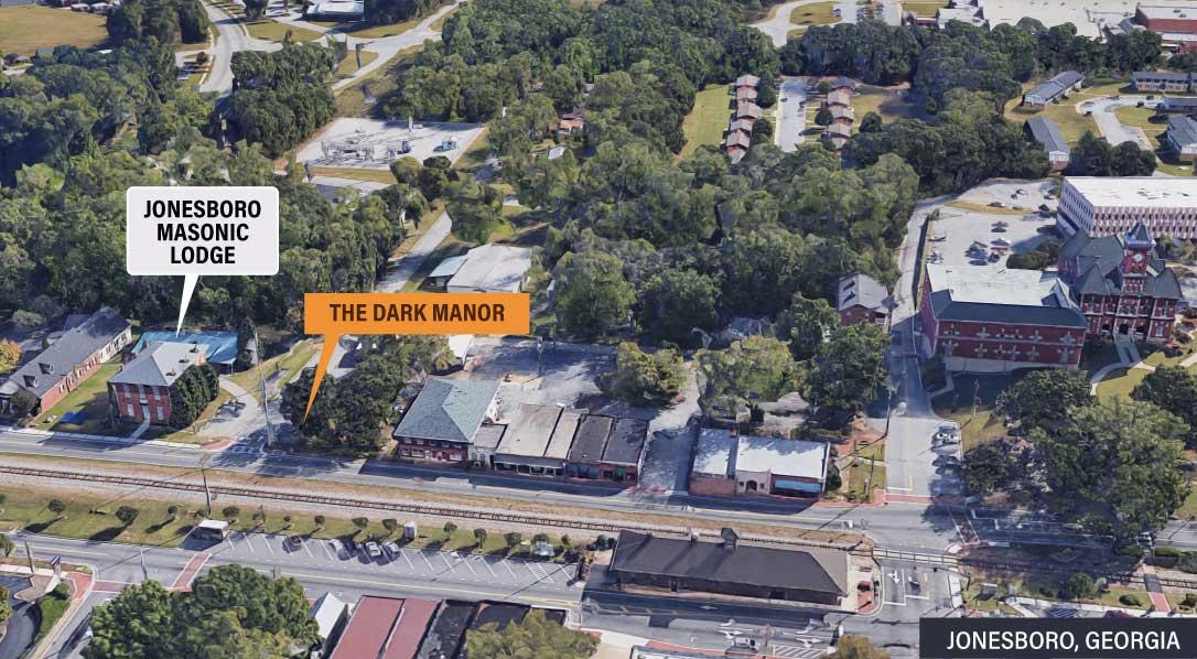 Location of the Dark Manor