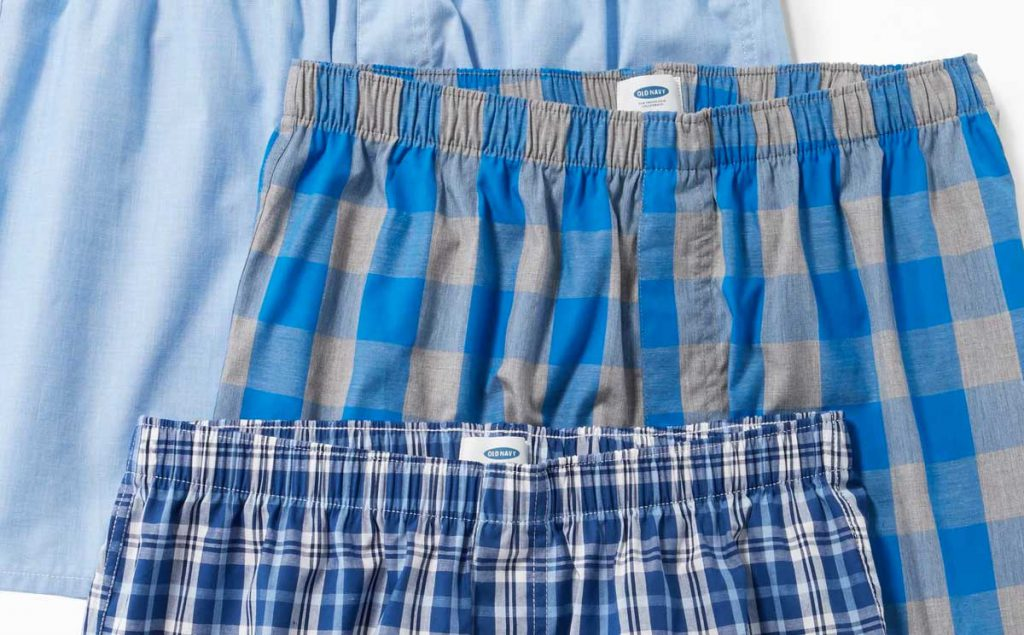 Be Sure You Buy the Right Size Boxer Shorts from Old Navy