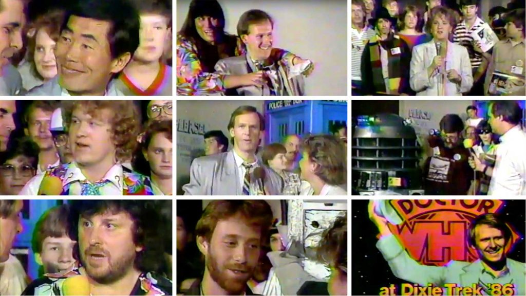 Segments seen in this video clip of Atlanta's DixieTrek 1986 convention!
