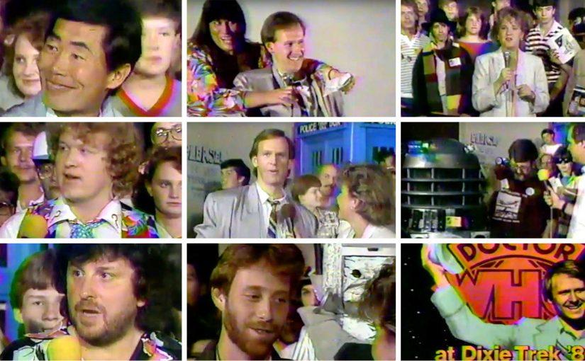 Rare 1980s Sci-Fi Con Footage