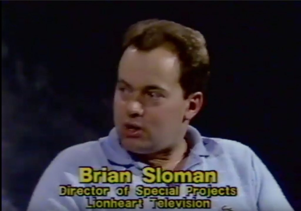 Photo of Brian Sloman, Director of Special Projects Lionheart Television