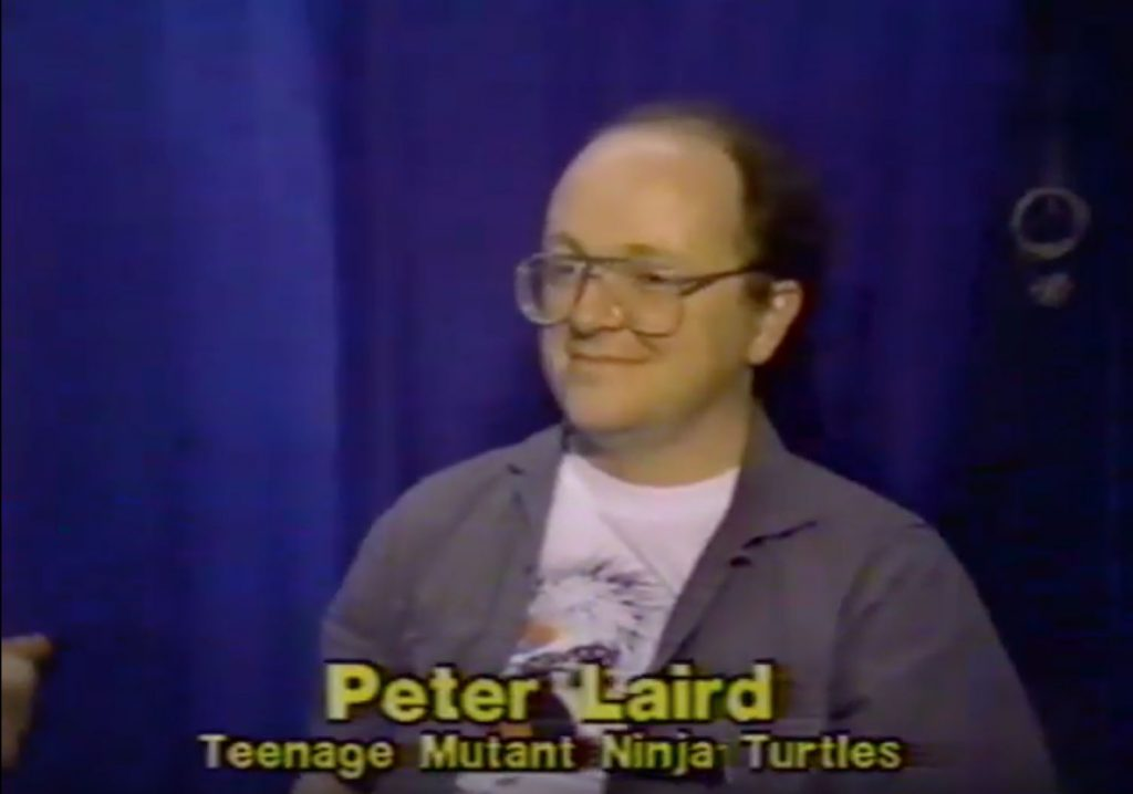 Photo of Pete Laird, co-creator of the Teenage Mutant Ninja Turtles