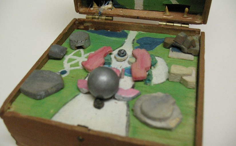 Vintage Handmade EPCOT Box