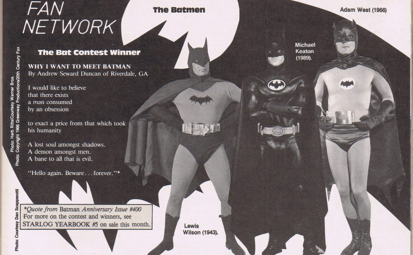 Batman Contest Winner